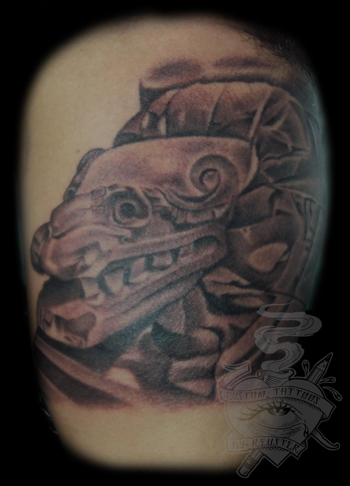 Aztec Temple Tattoo aztec tattoos: aztec tattoos – the beginnings of aztec tattoos